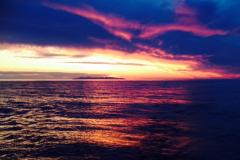 un tramonto dalla barca tutto per noi
