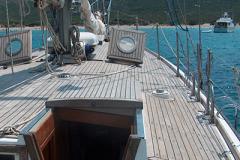 una bella immagine della coperta flush deck